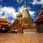 Буддийский храм в Таиланде