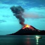 Карибский остров после извержения вулкана