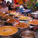 Традиционный ужин в северном Таиланде